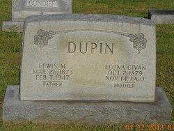 Leona <I>Givan</I> Dupin