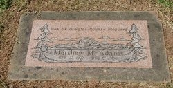 Matthew Mark Adams, Jr