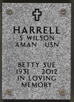 Betty Sue <I>Barnes</I> Harrell