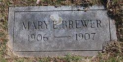 Mary Evangeline Brewer