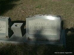 Sarah K. Blackwelder