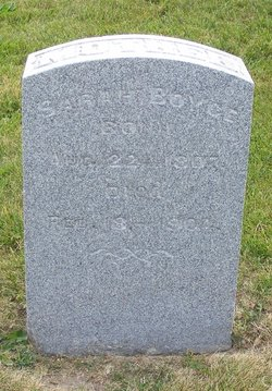 Sarah <I>Reynolds</I> Boyce