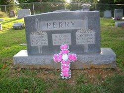 """Mercy Mellona """"M. Lona"""" <I>Needham</I> Perry"""