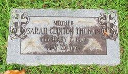 Sarah Louise <I>Clinton</I> Thublin