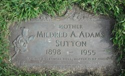 Mildred A Adams