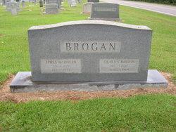 Clara <I>Cameron</I> Brogan