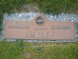 Olive Alice <I>Clark</I> Ambler