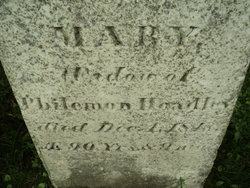 Mary <I>Rogers</I> Hoadley