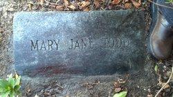 Mary Jane Todd