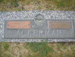 Harry A Ackerman
