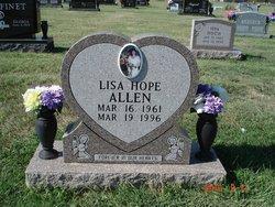 Lisa Ann <I>Hope</I> Allen