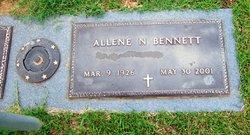 Allene <I>Neely</I> Bennett