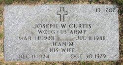 Joseph W Curtis