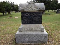 Mary Louvina <I>Loudermilk</I> Freeman