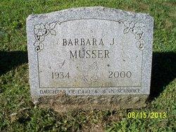 Barbara Joan <I>Schmoke</I> Musser