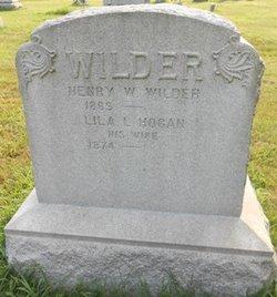 Lila L. <I>Hogan</I> Wilder
