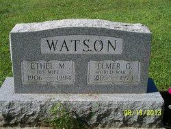 Ethel Mae <I>Lewis</I> Watson