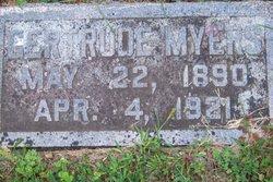 Gertrude M. <I>Mathison</I> Myers