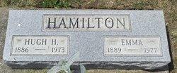 Mrs Emma <I>Nance</I> Hamilton