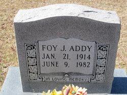 Foy J Addy