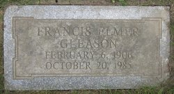 Francis E Gleason