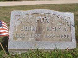 Mary Alice <I>Swales</I> Fox