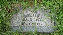 Maxine Hohnsbeen