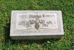 Mary Vieanna <I>Roberts</I> Kincaid