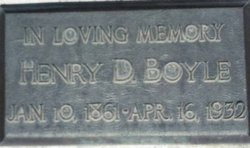 Henry Davis Boyle, Sr