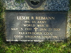 Leslie R Reimann