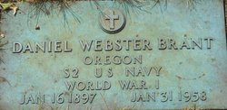 Daniel Webster Brant, Sr