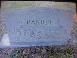 Pearl M. <I>Mason</I> Barbee