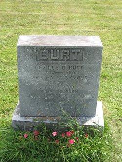 """Martha Maude """"Mattie"""" <I>Symons</I> Burt"""