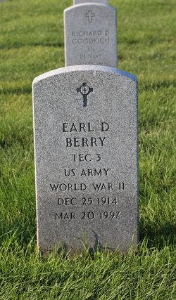 Earl D Berry
