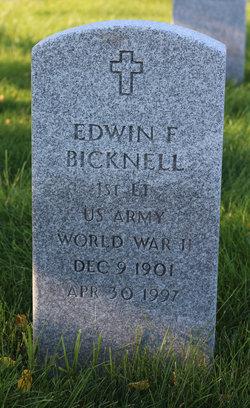 Edwin F Bicknell