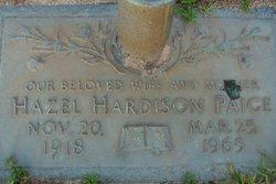 Hazel Lee <I>Hardison</I> Paige