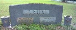 Rosa Lee <I>Clay</I> Crum