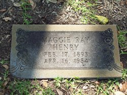 Maggie <I>Ray</I> Henry