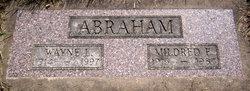 Mildred Elizabeth <I>Marsh</I> Abraham