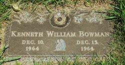 Kenneth William Bowman