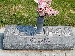Maxine <I>Shearon</I> Goerke