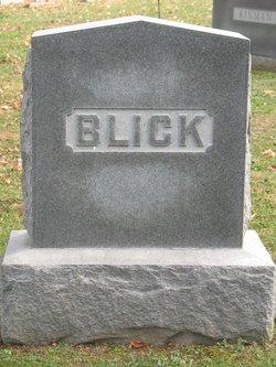 """Harriet Baker """"Hattie"""" <I>Thompson</I> Blick"""