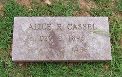 Alice R Cassel
