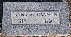 Anna M Cannon