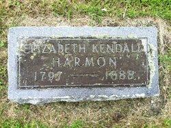 Elizabeth <I>Kendall</I> Harmon