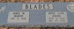 """Irene """"Jimmie"""" <I>Land</I> Blades"""