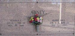 Marie V. <I>Hall</I> Abney