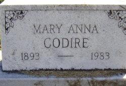 Mary Anna <I>Keller</I> Codire