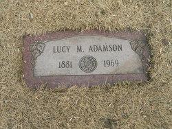 Lucy Margaret <I>Brassfield</I> Adamson