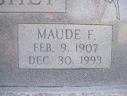 Maude Matilda <I>Farmer</I> Hughey